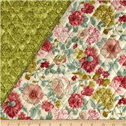 A Walk In The Park Double Sided Quilted Roses Cream