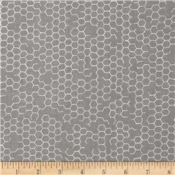 Kanvas Fowl Play Chicken Wire Grey
