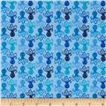 Timeless Treasures Mini Octopi Blue