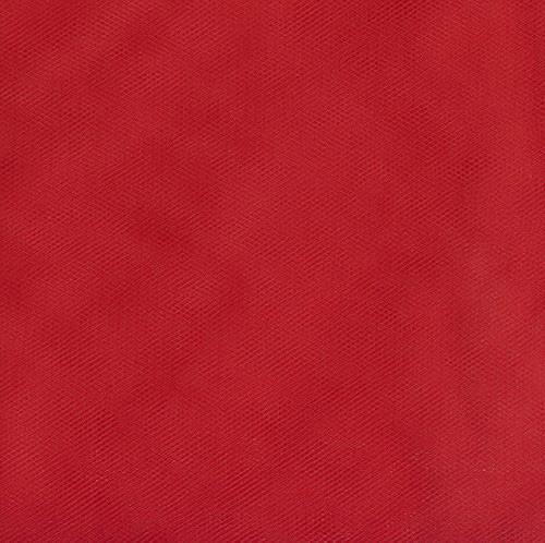 108 Wide Nylon Tulle Red Discount Designer Fabric