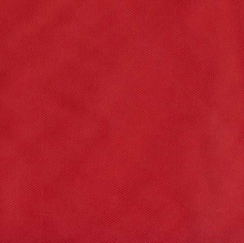 108'' Wide Nylon Tulle Red Fabric