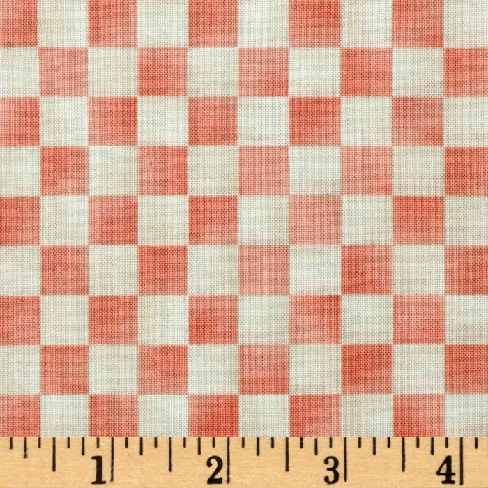 Graphix Checkered Cream/Light Pink