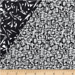 Graphix 3 Quilted Link Squares Black