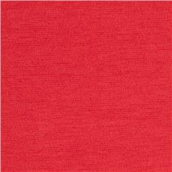 Ponte de Roma Knit Solid Washed Red