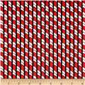 Christmas in the Wildwood Candy Cane Stripe Black