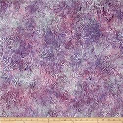Batavian Batik Rippled Reflections Little Purple