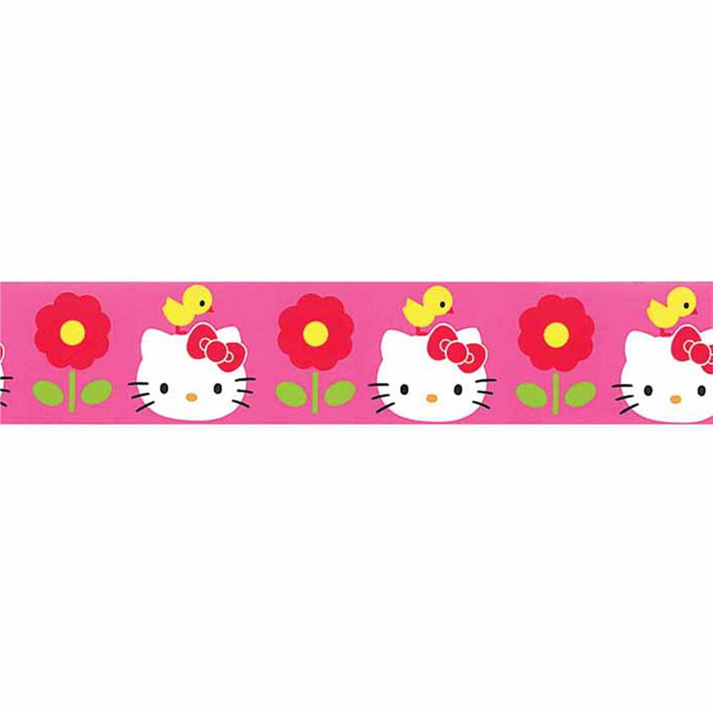 7/8'' Hello Kitty Chick Ribbon Pink