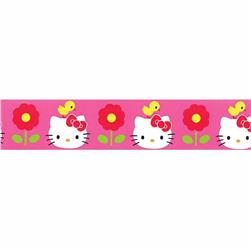 "7/8"" Hello Kitty Chick Ribbon Pink"