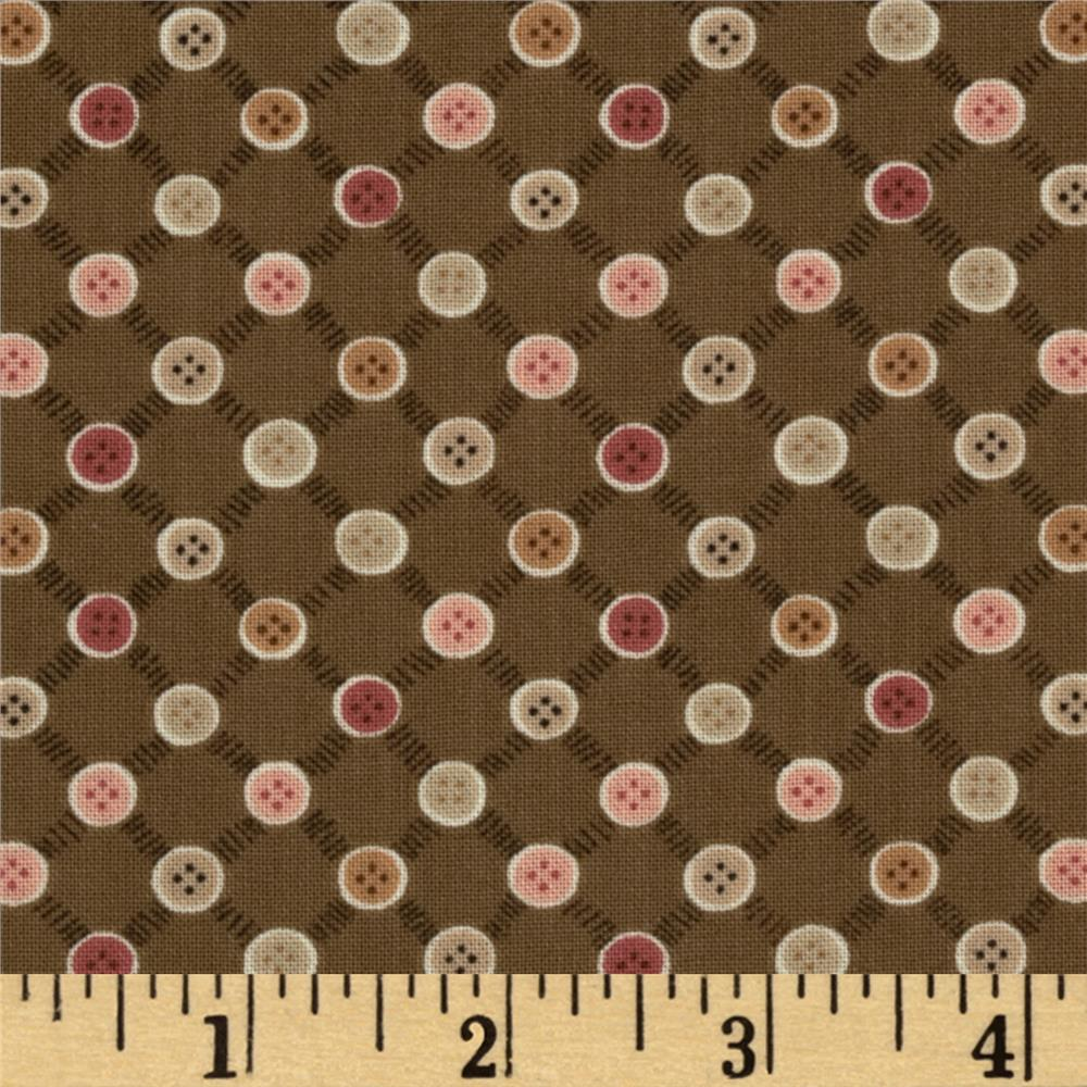 Button Tree Lane Buttons Brown