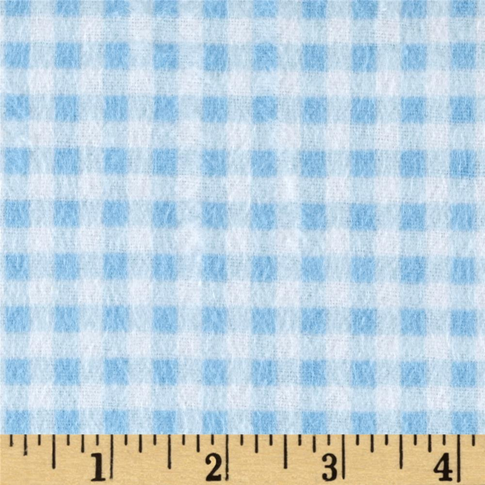 Flannel Basic Plaid Blue