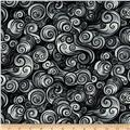 Nite Owls Swirls Grey