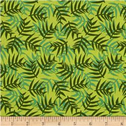 Jungle Ferns Green