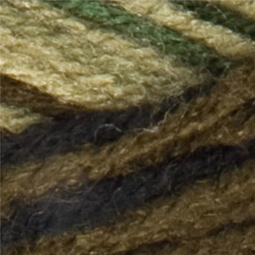 Red Heart Super Saver Yarn 971 Camouflage (m)