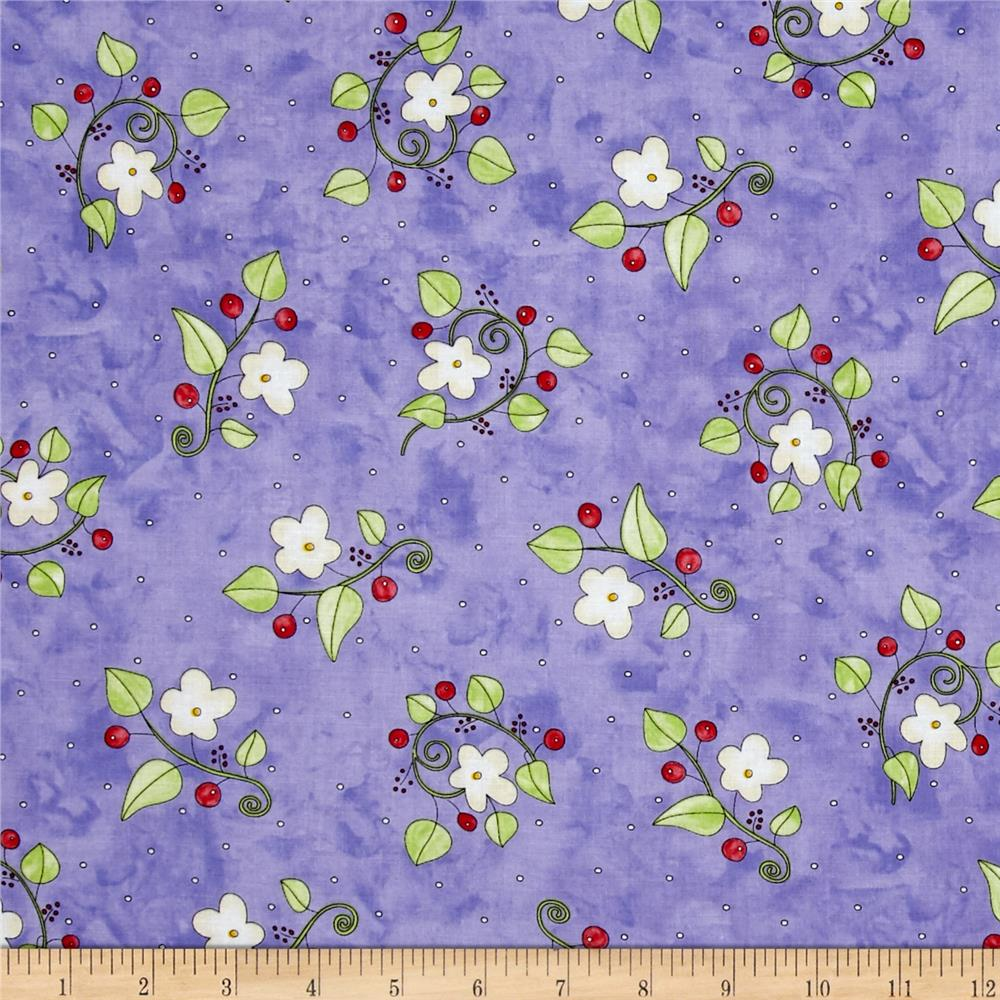 Happy Catz Floral Purple