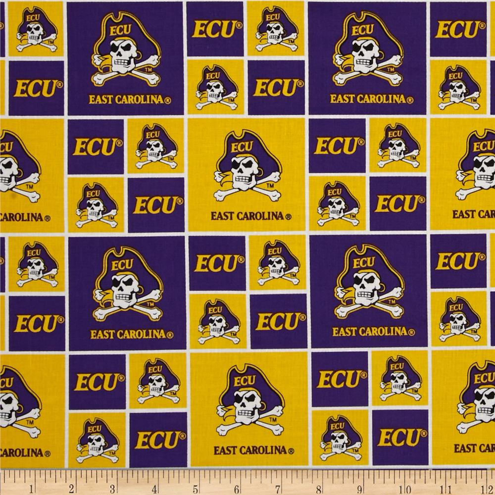 Collegiate Cotton Broadcloth East Carolina University Purple