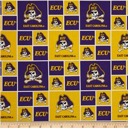 Collegiate Cotton Broadcloth East Carolina University