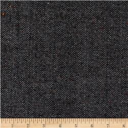 Tweed Suiting Basketweave Black/Multi