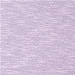 Jersey Cotton Slub Knit Lavender