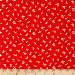 Moda Little Ruby Little Quirky Red