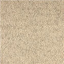 Faux Fur Sherpa Oatmeal Fabric