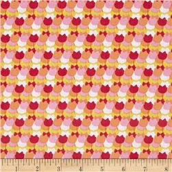 Windham Spring Bloom Tulip Stripe  Pink