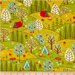 Camp Cozy Tree Scenic Green
