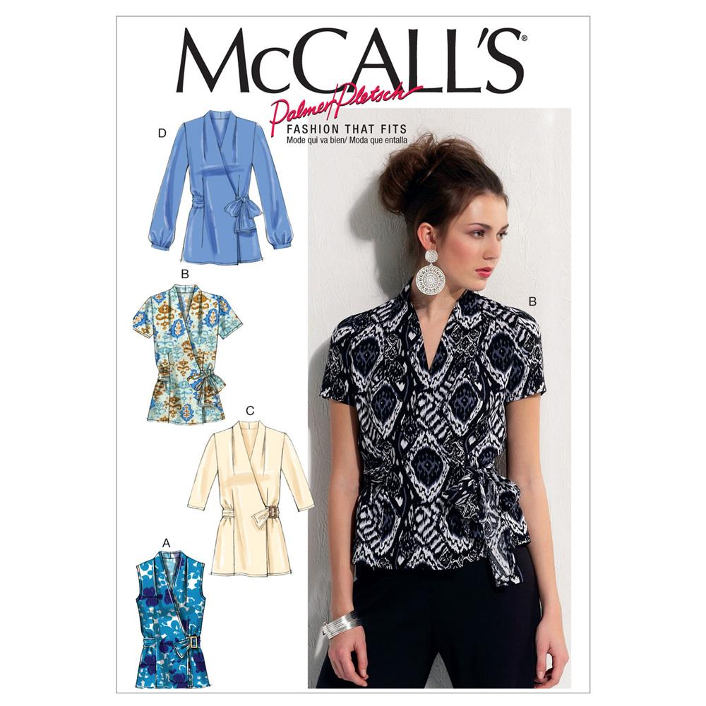 McCall's Misses Tops Pattern M6564 Size A50