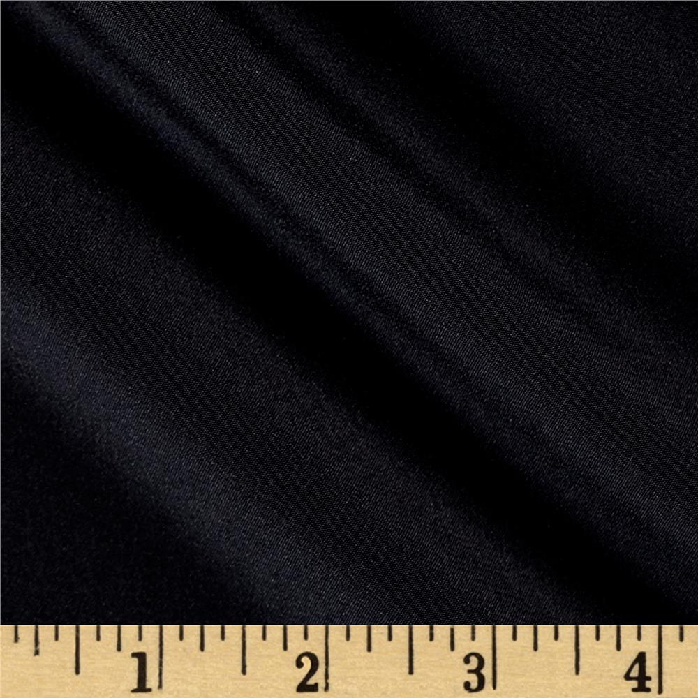 100% Silk Crepe de Chine Black