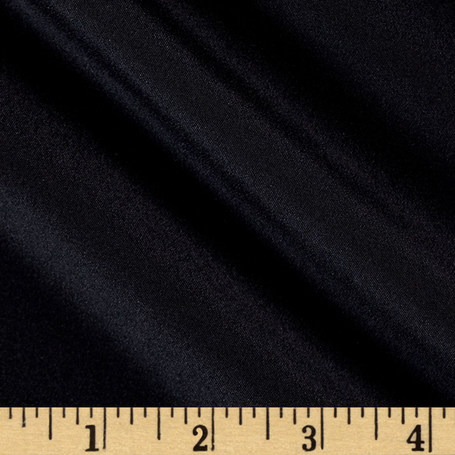 100% Silk Crepe de Chine Black Fabric by Stardom Specialty in USA