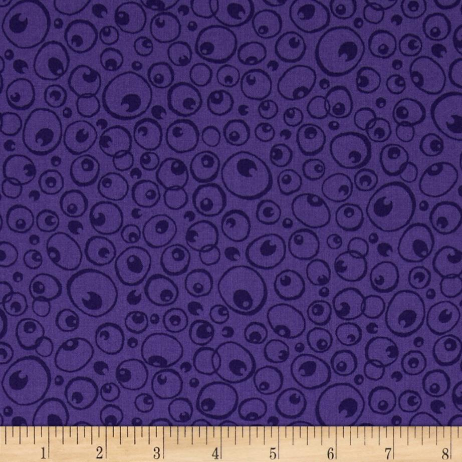 Nite Owls Owl Eyes Purple