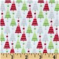 Riley Blake Home for the Holidays Flannel Tree Multi