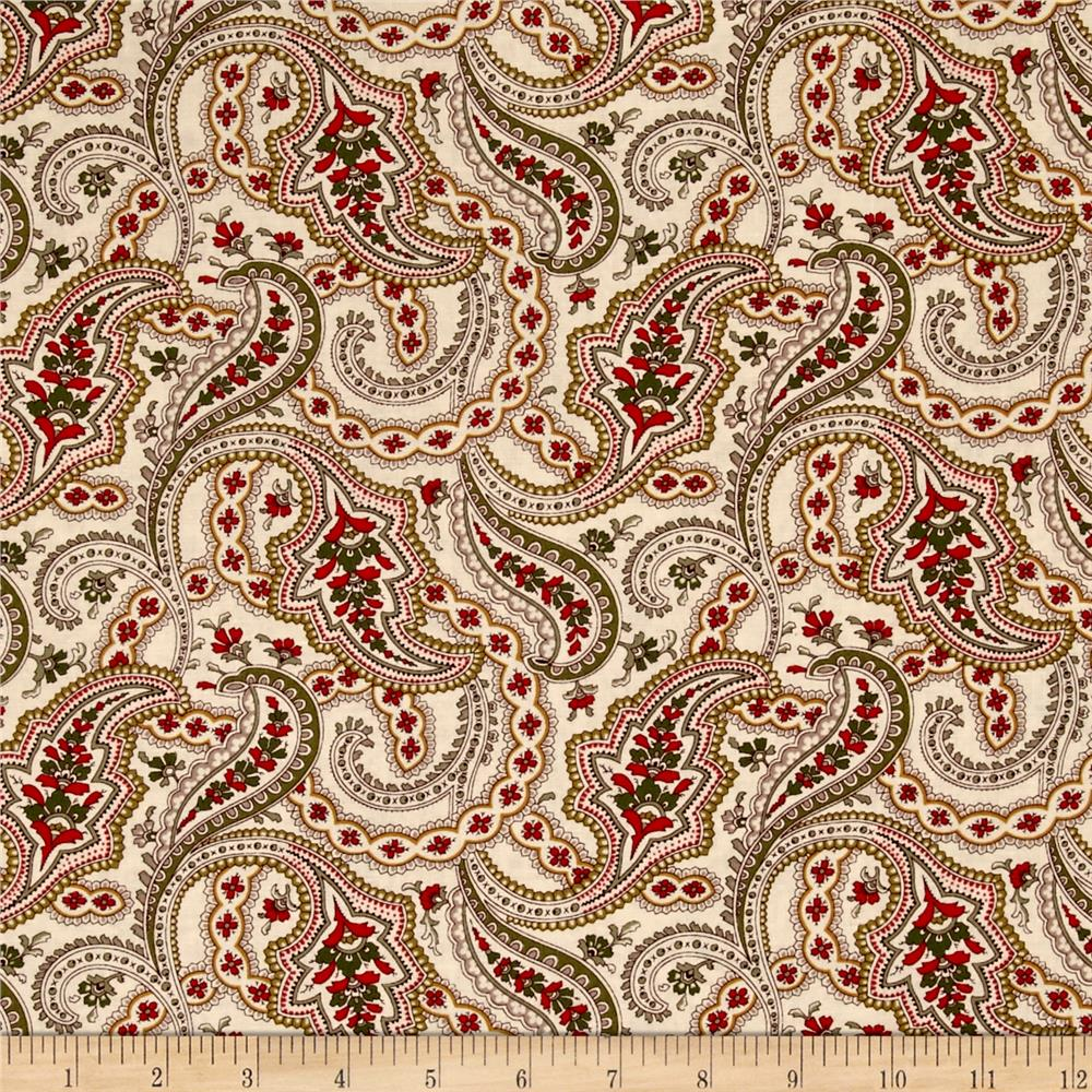 Always The Season Paisley Tan