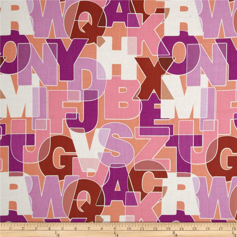 Thesaurus Large Packed Letters Pink