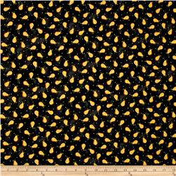 Folk Art Basics Pear Dot Black