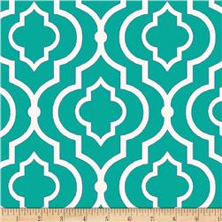 Swavelle/Mill Creek Indoor/Outdoor Starlet Teal Fabric