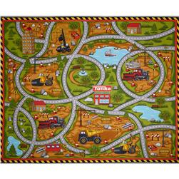 Tonka Road Work Tonka 36 In. Panel Playmat Multi