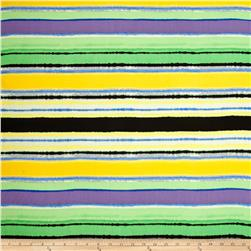 Rayon Voile Stripes Multi