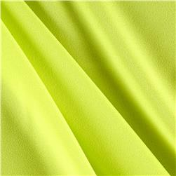 Moda Crepe Solid Chartreuse