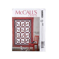 McCall's Quilt Pattern M6863 Size OSZ