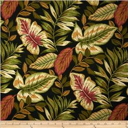 Tempo Indoor/Outdoor St Augustine Botanics Black Fabric