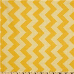 Riley Blake Chevron Medium Tonal Yellow Fabric