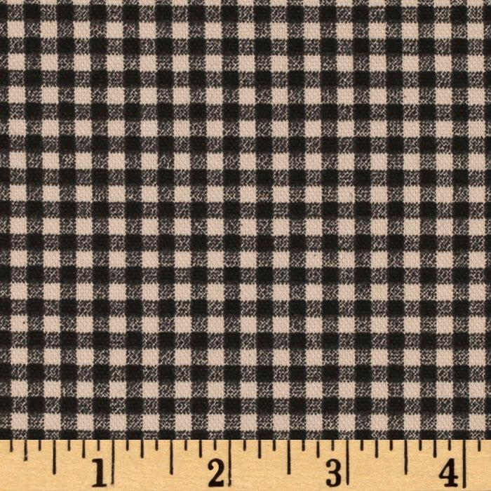 Waverly Cheerful Check Black/Ivory
