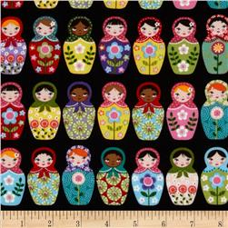 Matryoshka Doll Black