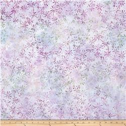 Kaufman Artisan Batiks Enchanted Geo Splash Wineberry