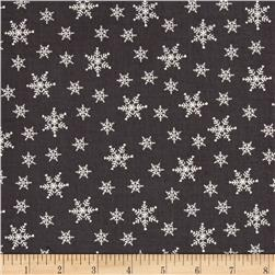 Winter is Coming Snowflake Dark Gray