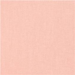 Designer Essentials Linen/Cotton Solid Blush