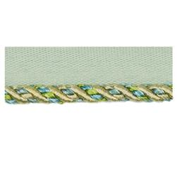 Fabricut Amaretto Cord Trim Sea Glass