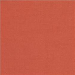 Viscose Voile Solid Coral Orange