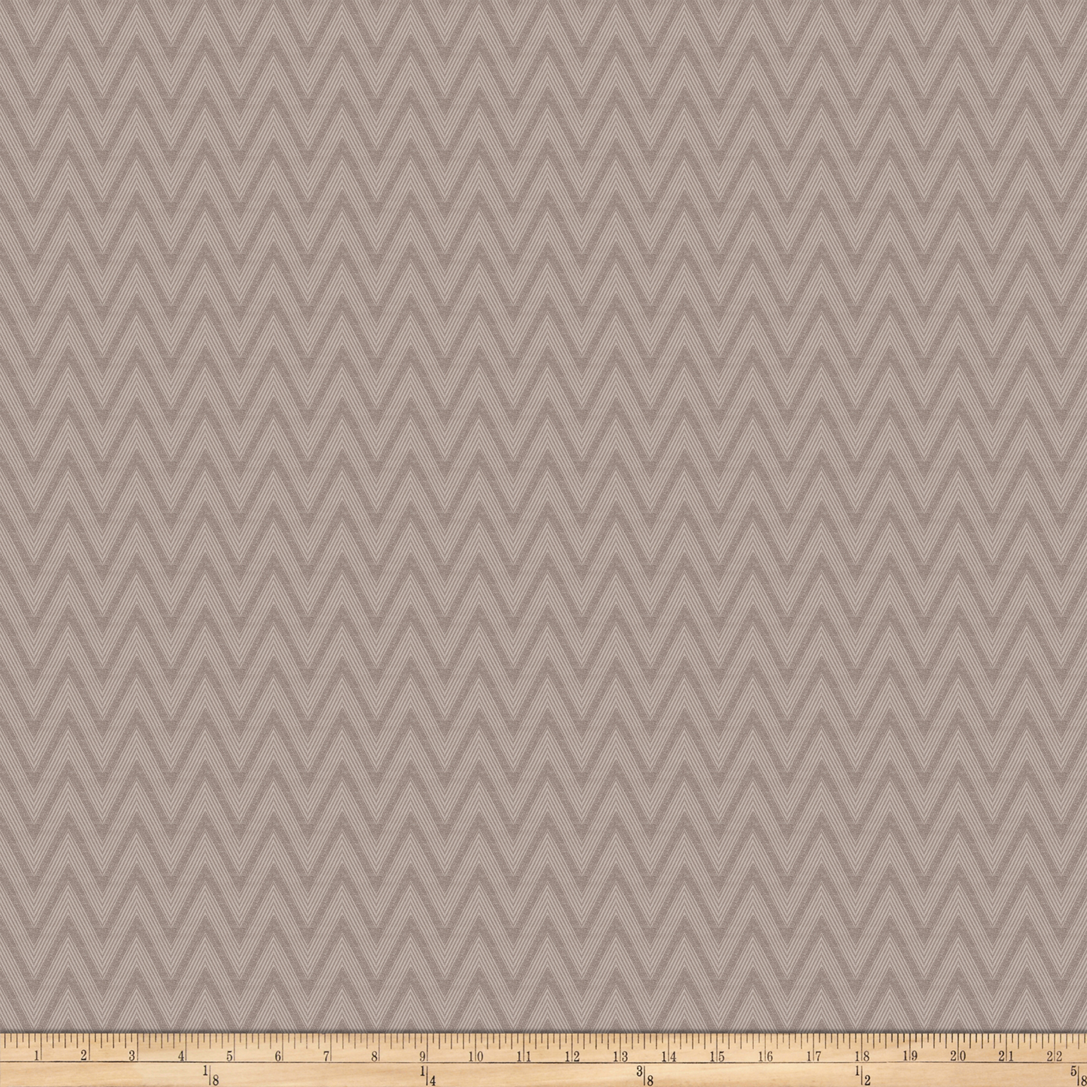 Vern Yip 03358 Jacquard Chevron Grey Fabric