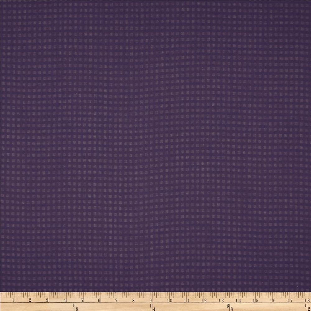 Cotton Shirting Subtle Check Purple